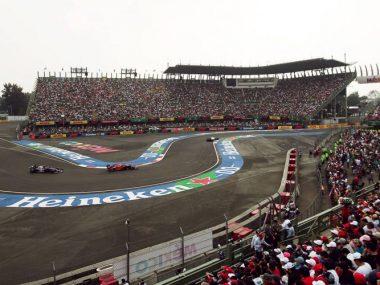 Formula 1 GP Mexico 2022 fechas