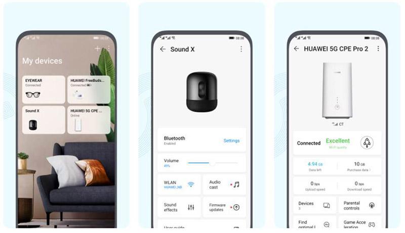 Huawei AI Life aplicacion