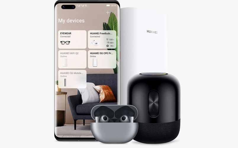 Con Huawei AI Life controla tu casa inteligente desde el celular
