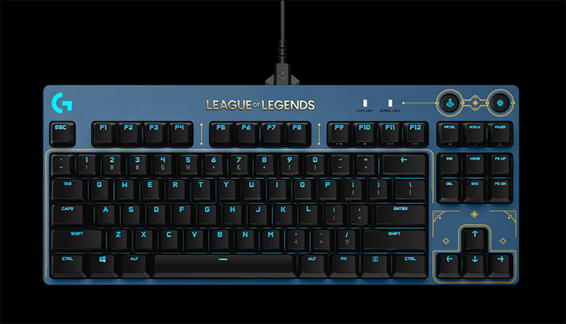 Logitech G PRO Mechanical Gaming Keyboard LOL