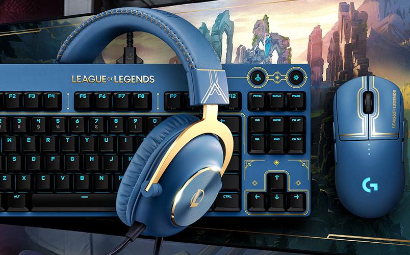 Logitech G y Riot Games presentan periféricos de League of Legends