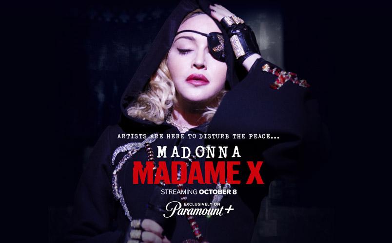 Madame X de Madonna llega el 8 de octubre a Paramount+