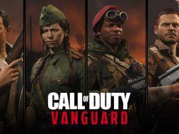 Operadores Call of Duty Vanguard