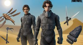 Paul Atreides y Chani viajan de Dune a Fortnite, checa su lote