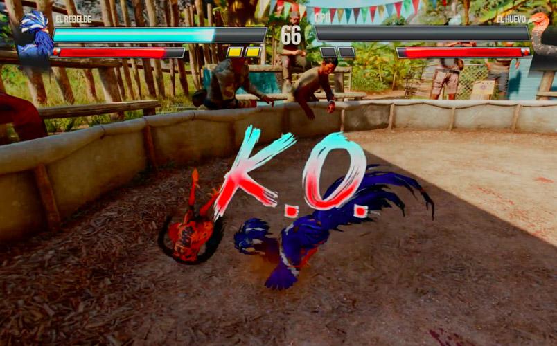 PETA Latino en contra de las peleas de gallos en Far Cry 6 de Ubisoft
