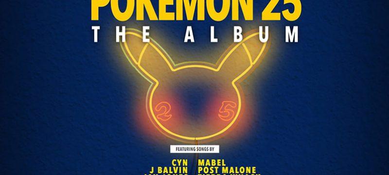 Pokemon 25 El album lanzamiento