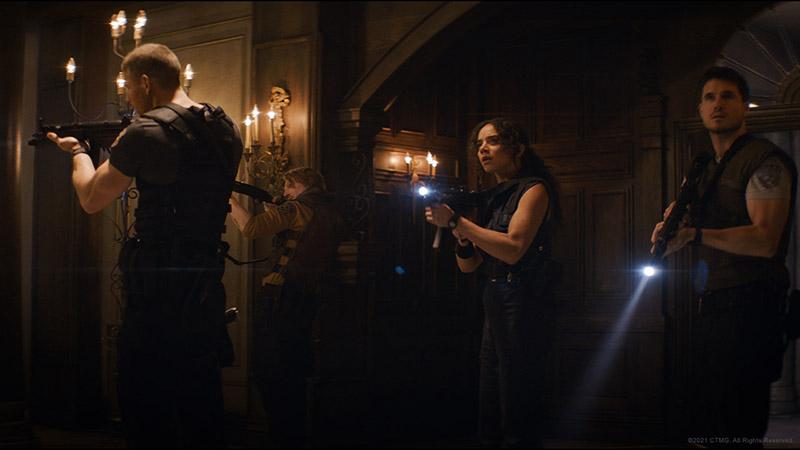 Resident Evil Bienvenidos a Raccoon City cast