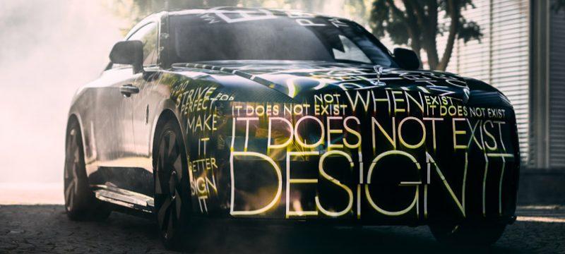 Rolls-Royce Specte adelanto