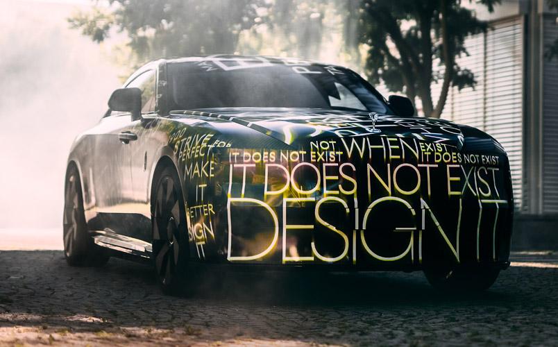 Specte es el primer vehículo eléctrico de Rolls-Royce para 2023