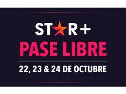 STAR Plus Pase Libre octubre 21
