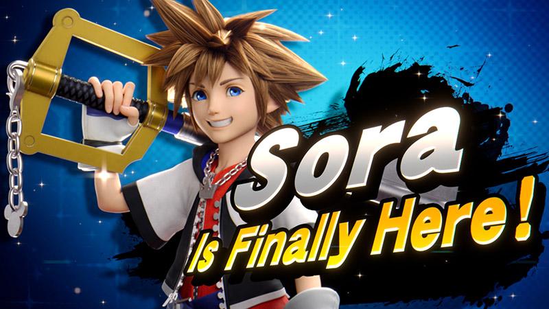 Sora Kingdom Hearts Super Smash Bros Ultimate DLC
