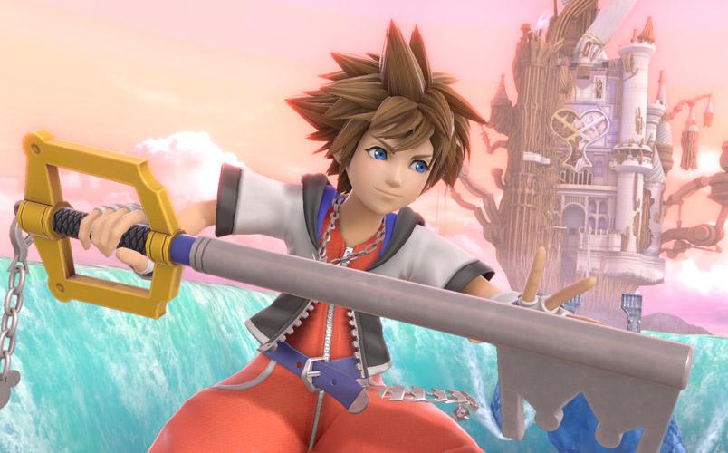 Sora de Kingdom Hearts llegará a Super Smash Bros. Ultimate