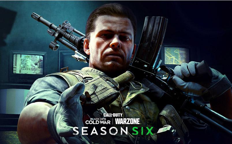 El contenido nuevo de la Temporada Seis de Cold War y Warzone