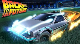 Celebra el día de Volver al futuro con el paquete en Rocket League