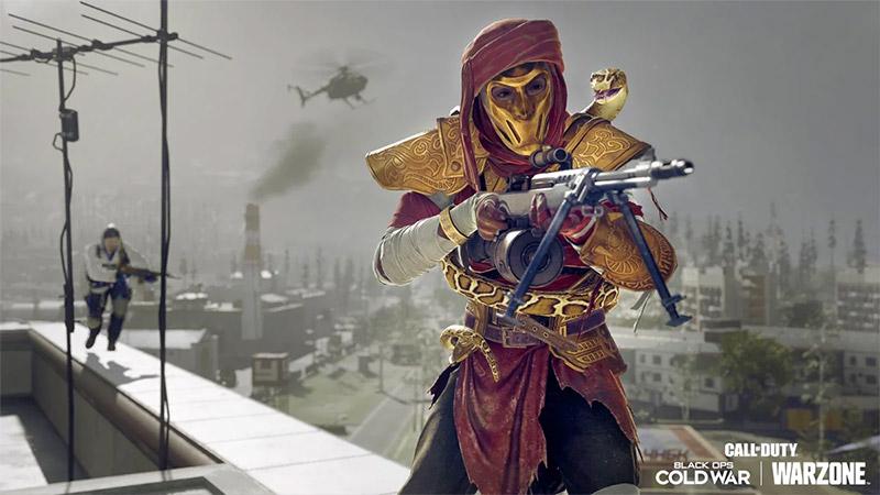 Warzone - Cold War objetos Vanguard 24 niveles