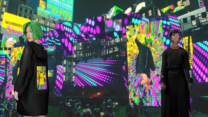 Yahoo x Charli Cohen coleccion Festival Park